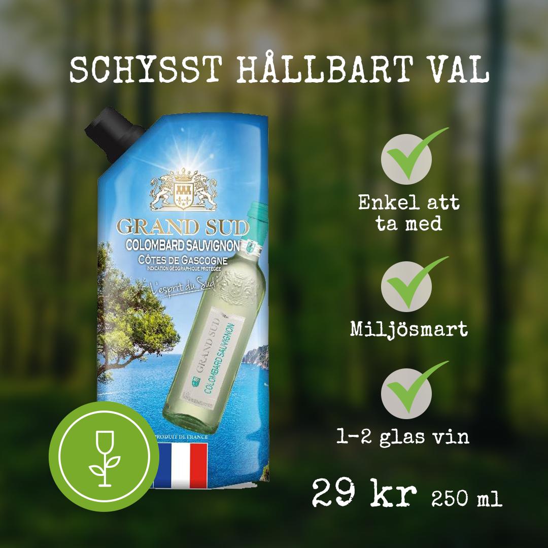 Grand Sud Colombard Sauvignon Schysst vin
